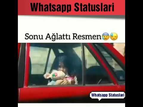 Duyğusal Whatsapp status ucun  Sevgi qemli hezin menali anlamli ayriliq aglamali