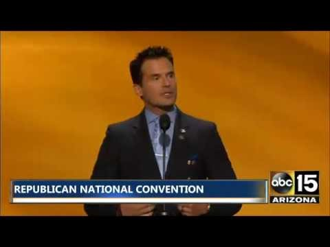 FULL SPEECH: Antonio Sabato Jr. Republican National Convention