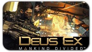 Итак начнём с того что Deus Ex Mankind Divided претерпела просто колоссальные изменения по графике Она стала в