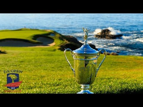 U.S. Open Live, Monday Morning At Pebble Beach