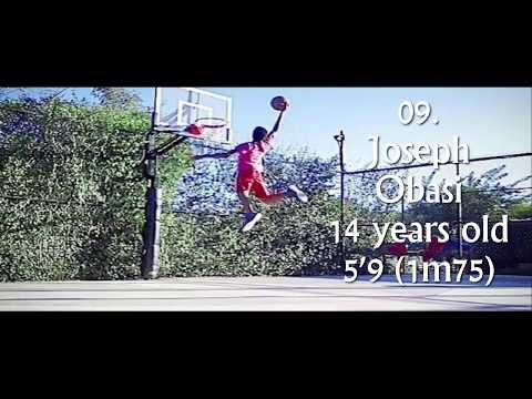 TOP 10 YOUNGEST DUNKERS EVER