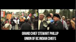 Idle No More - Pat Bay Highway Blockade