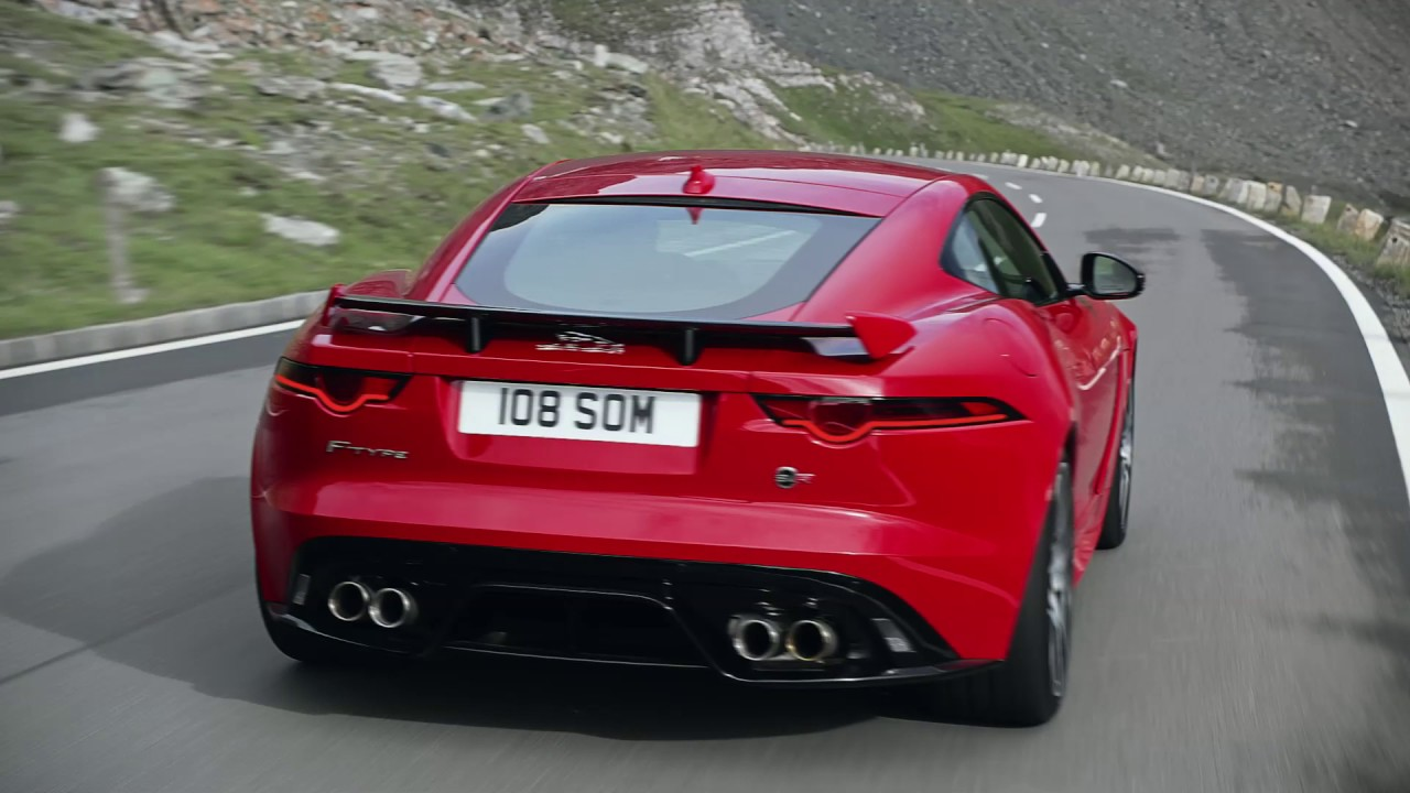 new 2018 jaguar f type svr exhaust note jaguarusa. Black Bedroom Furniture Sets. Home Design Ideas