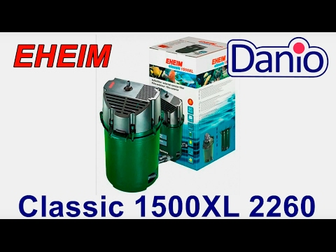 How to Set Up & Install the Eheim 2217 Classic Canister Filter .