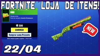 Loja Fortnite - Loja De Hoje 22/04/2019 *NOVOS* Envelopamentos