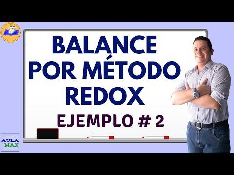 Balanceo por método REDOX (Ejemplo 2)