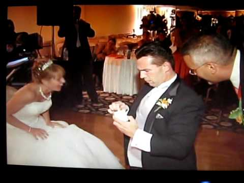Best Garter Removal Ever Our Wedding 8 8 09 Youtube