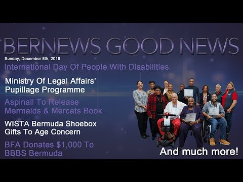 "Bernews ""Good News"" Sunday Spotlight, December 8, 2019"