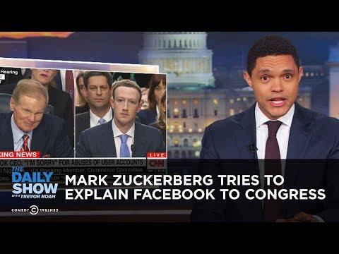 Mark Zuckerberg Tries to Explain Facebook to Congress
