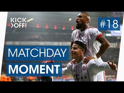 James' stunning free kick goal | Leverkusen - Bayern | Bundesliga Highlights
