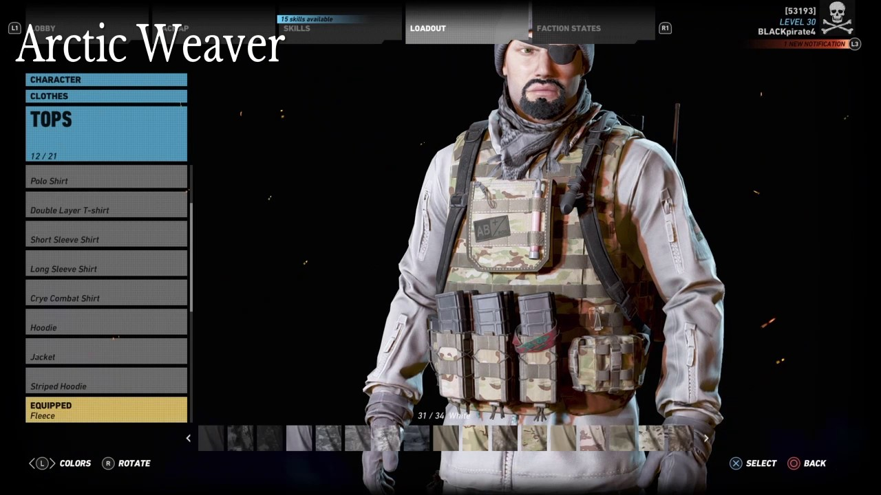 How to make weaver in ghost recon wildlands youtube - Weaver ghost recon ...
