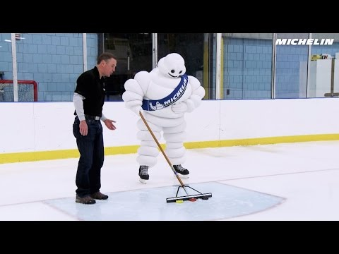 The Michelin Man and Winter Hockey Puck Magic