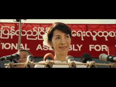 "Michelle Yeoh as Aung San Suu Kyi in ""The Lady"""