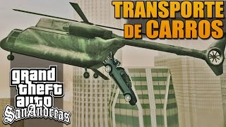 Transporte de Carros no CargoBob - GTA San Andreas