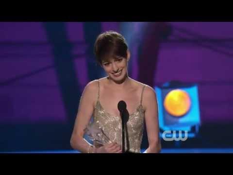 Anne Hathaway wins