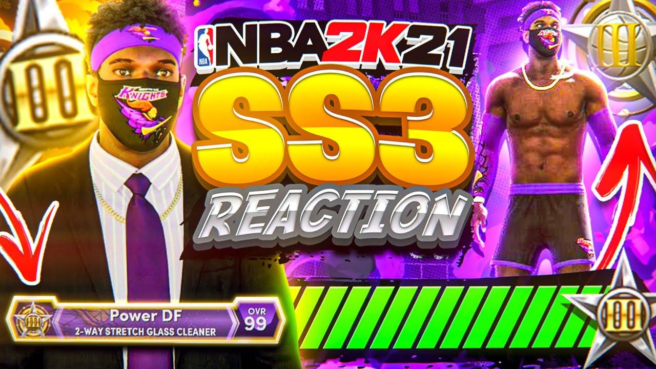 FIRST SUPERSTAR 3 REACTION • I UNLOCKED PARK SUITS & GYM RAT ON THE BEST BUILD! NBA 2K21 NEXT GEN