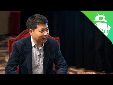 Exclusive Interview with Huawei CEO Richard Yu At CES 2017