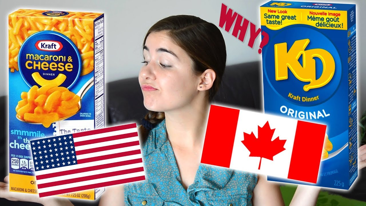 Why Do Canadians Call It Kd Americans Call It Kraft Mac Cheese