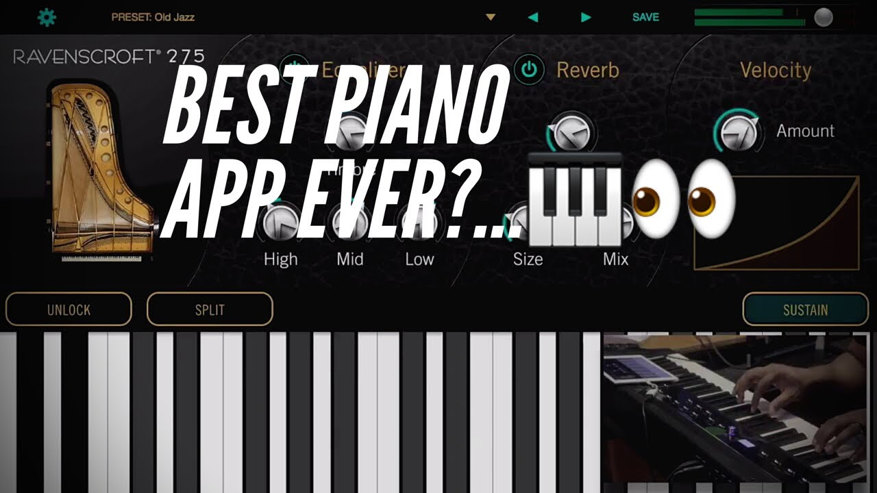 ravenscroft 275 for ios best piano app for iphone ipad youtube. Black Bedroom Furniture Sets. Home Design Ideas
