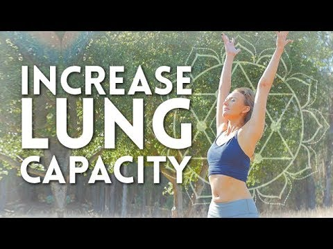 Hatha Flow With Deep Breathing Exercises Yoga To Increase Your Lung Capacity Day 10 Youtube