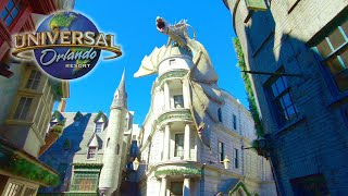 Universal Studios 2021 Complete Walking Tour in 4K | Orlando Florida 2021