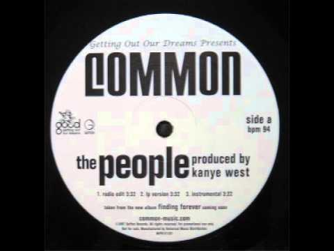 Common - The People (Instrumental) HQ