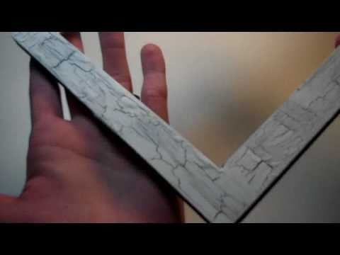 How to make crackle paint with wood glue