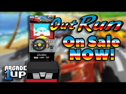 Arcade1Up Outrun Sit Down Racing Cabinet Now Available! from COOLTOY