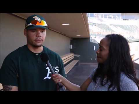 Oakland A's Bruce Maxwell Talks Faith In Team