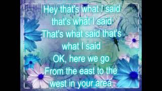 What I said~ Coco Jones, lyrics