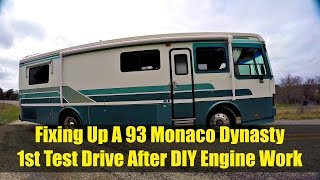 Refurbishing a 93 Monaco Dynasty: First Test Drive After Engine Work