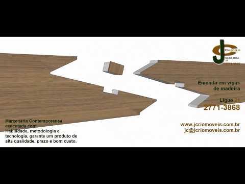 Emenda de Madeira - JC Design Marcenaria