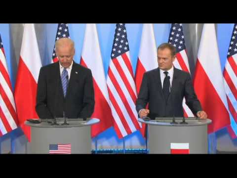 Joe Biden Denounces Crimean Annexation: Russia 'Stands Naked And Alone'