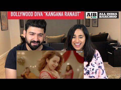 All India Backchod   Bollywood Diva Kangana Ranaut Reaction Video   RajDeep  