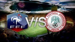 Simulación Francia V/s Nigeria | Octavos de final | FIFA 14 | Gameplay PC |