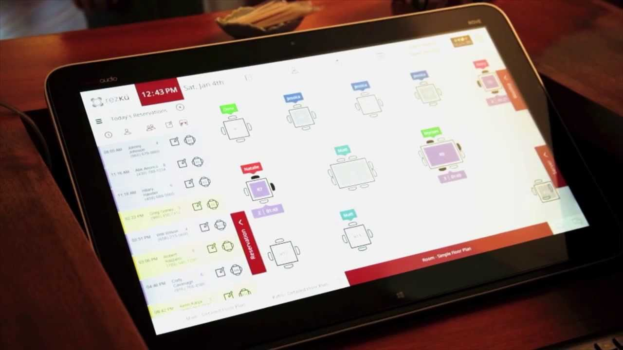 Rezku Restaurant Reservation System YouTube - Table reservation system for restaurants