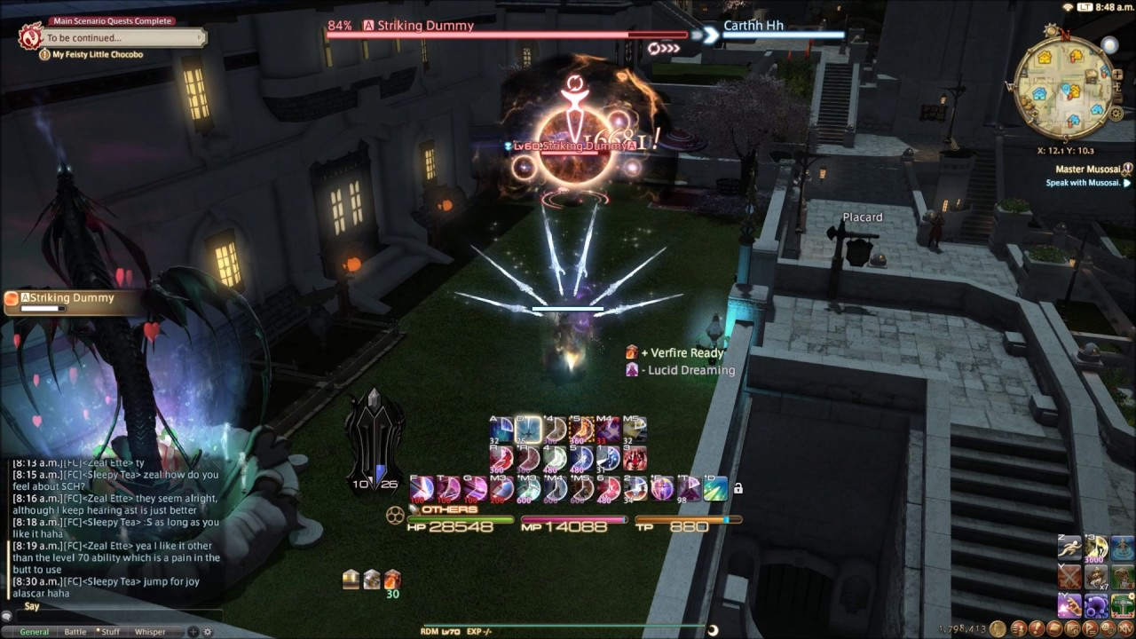 4 0 Red Mage Rotation - FFXIV