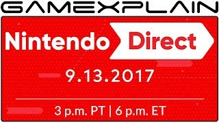 Nintendo Direct Coming September 13th - 45 Minutes Long!