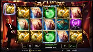 The Great Gambinis Night Magic kostenlos spielen - Novomatic / Novoline