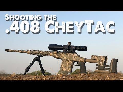 Shooting The 408 CheyTac