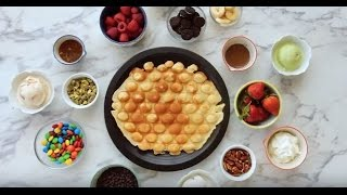 How to Make Bubble Waffles