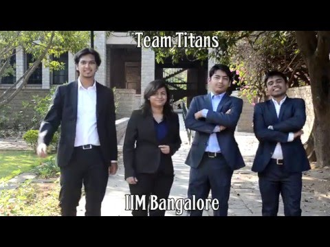 #KPMGICC Finalists - Team IIM Bangalore