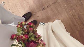 [Vlog] 흑백 웨딩촬영하고, 63빌딩 야경맛집, 첸…