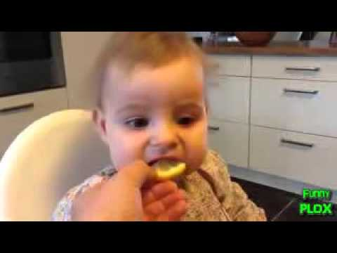 Babies Eating Lemons for the First Time Compilation 2013