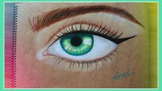 Рисуем Глаз Пастелью(Привет! Рисую в этом видео пастелью Глаз:) Ставь Лайк! И подпишись! :D., 2016-04-02T14:45:06.000Z)
