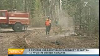 Денег больше, толку меньше: чиновников обвинили в растратах на тушение лесных пожаров