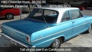 1963 Chevrolet Nova For Sale Coupe for sale in Headquarters