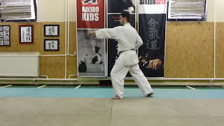 chudan tsuki[TUTORIAL] Aikido empty hand basic technique: