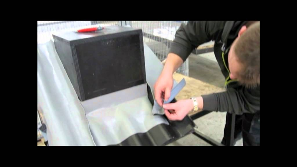 Fastflash Self Adhesive Roof Flashing Youtube