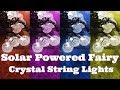 Lalapao Solar String Lights  ( Unboxing/Reviewing)